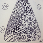 Zentangle © Waterjufferweb.nl